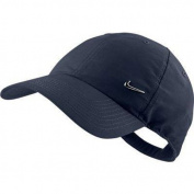 Nike Men's Swoosh Cap - Navy Silver, One Size