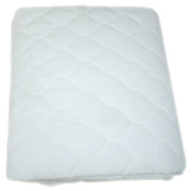 American Baby Company Waterproof Fitted Quilted Bassinet Mattress Pad Cover, ...