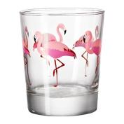 IKEA SOMMARFINT - Glass, flamingo - 23 cl