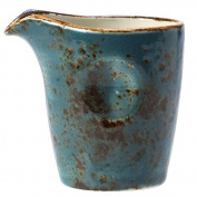 Steelite Craft Pourer Blue 3oz / 85ml | Pinched Milk Jug, Milk Tot, Creamer, Ceramic Jug