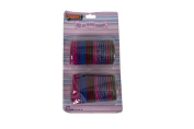 42 x ASSORTED HAIR BANDS - stretchy girls bobbles.
