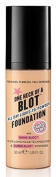 Soap And Glory One Heck Of A Blot All Day Liquid-To-Powder Foundation For Oily Skin - Fair Enough 30ml