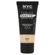 NYC Natural Matte Foundation Number 2, Ivory