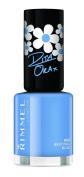 Rimmel London 60 Seconds Super Shine Rita Ora Summer Shades Nail Polish, Bestival Blue - 8 ml