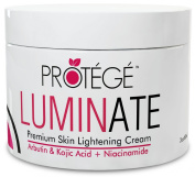 LUMINATE Skin Lightener - Natural Lightening Treatment Reduces Discoloration, Dark Spots, Age Spots, Freckles, Melasma, and Hyperpigmentation