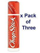 ChapStick Lip Balm - Strawberry- PACK OF 3