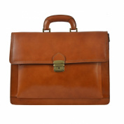 CTM Unisex's business bag, organiser, briefcase in genuine leather made in Italy D7009 - 41x31x18 Cm