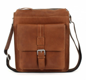 Strellson Blake Shoulder Bag Leather 25 cm cognac