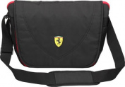 Ferrari Travellers Messenger Bag, Black