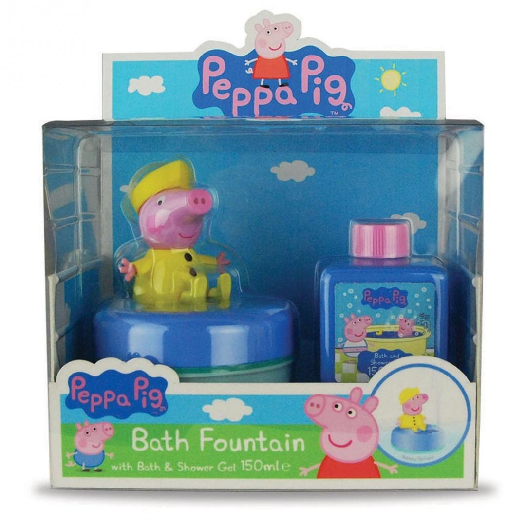 Peppa Pig Bath Fountain And Bubble Bath by Peppa Pig - Shop Online ...
