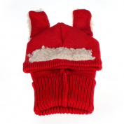 Tonsee® Winter Beanie Baby Girls Boys Hat Hooded Scarf Earflap Knitted Wool Cap