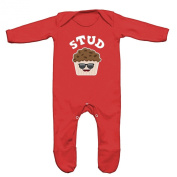 Stud Muffin Baby Romper Sleep Suit