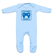 Future Gamer Baby Romper Sleep Suit