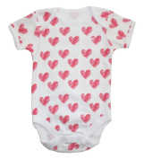 Baby Bodysuit with Short Sleeves White 86 / 92
