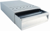 DRAWER FOR COFFEE DREGS ST/STEEL 250x375x85mm