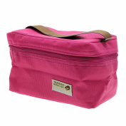 VANKER 1Pc Hot Pink Practical Mini Small Portable Insulated Picnic Bag Lunch Container Box