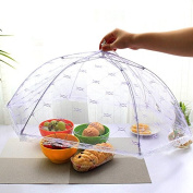 Upspirit(TM) Vogue Lace Mesh Food Cover Net Tent Collapsible Umbrella Style Anti Fly Bugs Outdoor Eating Picnic Food Cover-Colour Random