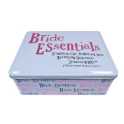 Really Good Bright side Bride Essentials Wedding Hinged Tin Gift
