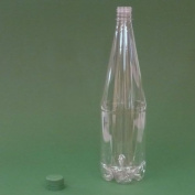 PET Bottles 1 Litre with tamper-evident caps