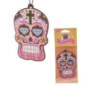 Day of the Dead Skull Cherry Air Freshener