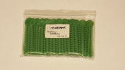 OrthoExtent Orthodontic Ligature Ties, Grass Green Pearl, 1040 Ties per Bag