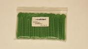OrthoExtent Orthodontic Ligature Ties, Grass Green Pearl, 1040 Ties per Bag