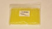 OrthoExtent Orthodontic Ligature Ties, Crystal Yellow, 1040 Ties per Bag