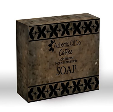 Coffee traditional cold pressed handmade soap
