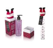 MAD BEAUTY SANTA BABY CHRISTMAS GIFT SET SSPICED APPLE HAND WASH & HO HO HO BATH FIZZERS