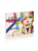 B Unique Non-Toxic Temporary Hair Chalks Set - Great For Dress Up, Performance Costumes and Create A Funky Look - for Children and Teens. Bundle Includes 24 Non Toxic Temporary Hair Dye Colour Pastels
