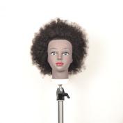 Cosmetology Ethnic Human Hair Manikin, Afro