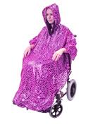 Aidapt Pink Polka Dot Wheelchair Poncho