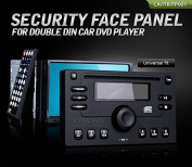 XTRONS® Security Face Panel for Double Din Car DVD Player