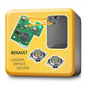 MICROTASTER KEY CARD SWITCH SET OF 2 FOR RENAULT LAGUNA ESPaCE