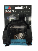 The Bar Fly Go Pro 31.8mm diameter handlebar clamp Black