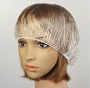 100X Transparent Disposable Spa Salon Beauty Bath Shower Caps by Abcstore99