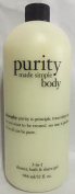 Philosophy Purity Made Simple Body 3 in 1 Shower, Bath & Shave Gel 950ml