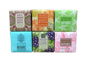 Bundle of 6 Greenwich Bay Garden Sampler Soaps - 60ml Soaps