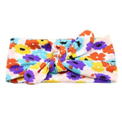 FEITONG Fashion New Lovely Kids Baby Unisex Print Knot Cross Headband Baby Hair Accessories