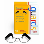 Product Club Disposable Eyeglass Guards Black