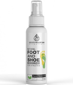 Rocky Mountain Essentials Natural Foot and Shoe Deodorizer for Athletes, Sweet Peppermint, 120ml