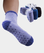 Womens Non Skid / Slip Hospital Socks 3 Pack