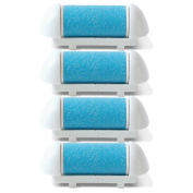 Replacement Rollers for 2015 Callus Remover by ToiletTree Products. 4 pack