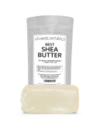 THE #1 Rated Organic Raw Unrefined Premium Grade A, Ivory Shea Butter ln The World By Leomael Naturals - FREE Shea Butter Recipes E-BooK - Best Top Quality Ingredient For DIY Skin Care Recipes - For Skin Moisturisers - For Dry or Acne - Prone Skin, Del ..