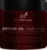 Art Naturals Argan Oil Hair Mask, Deep Conditioner 240ml, 100% Organic Jojoba Oil, Aloe Vera & Keratin, Repair Dry, Damaged Or Colour Treated Hair After Shampoo, Best For All Hair Types - Sulphate Free