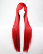 "Women/ladies 32"" 80cm Long Straight Hair Cosplay/costume/anime/party/bang Full Sexy Wig"