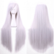 """Women/ladies 32"""" 80cm Long Straight Hair Cosplay/costume/anime/party/bang Full Sexy Wig"""