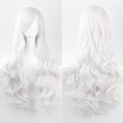 Women/ladies 80cm Long Curly Hair Cosplay/costume/anime/party/bang Full Sexy Wig