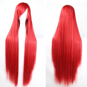 Women/ladies100cm Long Straight Hair Cosplay/costume/anime/party/bang Full Sexy Wig
