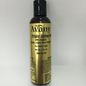 Triple Action Oil By Avany, 100% Virgin, Pure and Natural Blend of Castor Oil, Argan Oil, and Sweet Almond Oil for Hair and Skin 120ml